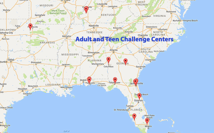 Alabama teen challange